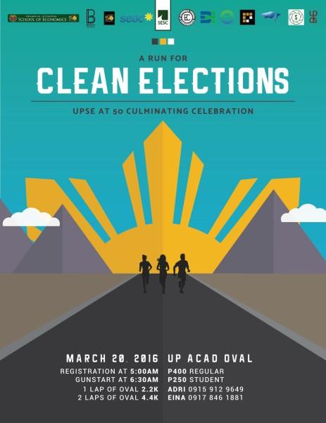 UPSE@50-Fun-Run-A-Run-for-Clean-Elections-2016-Poster-463x600